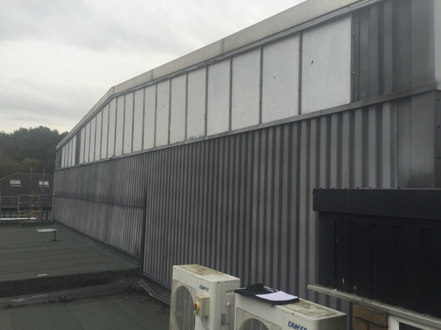 Langley School Hoyes Roofing Amp Cladding