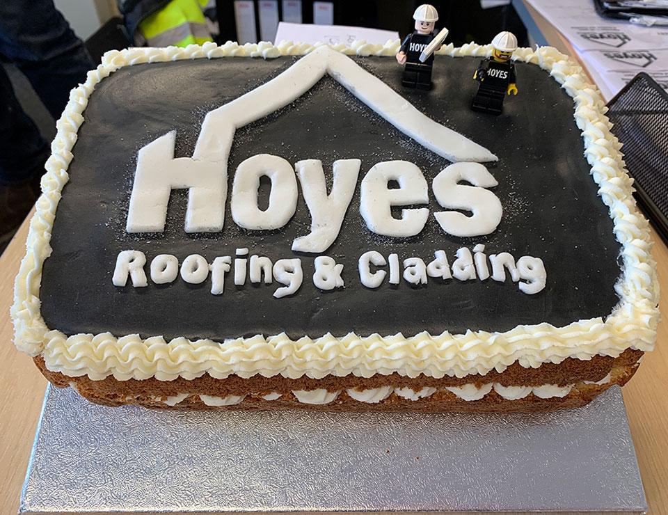 Hoyes Roofing Cake